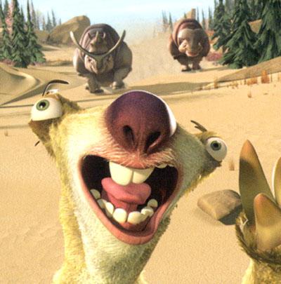 Out Sloth Sid Tongue 4