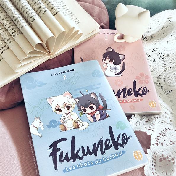 Fukuneko, les chats du bonheur T02