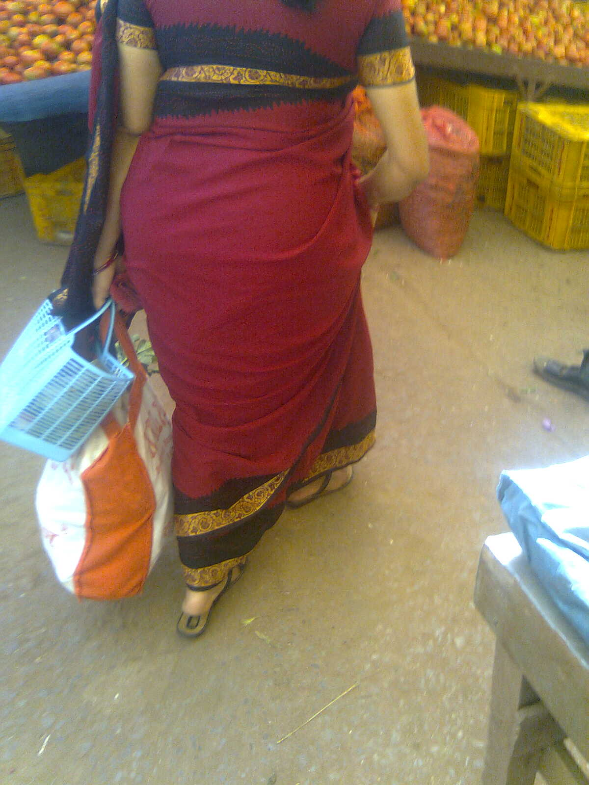 My Desi Aunties My Aunty Round Back Side-2447