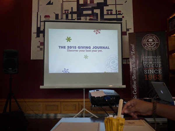 My CBTL 2015 Giving Journal Media Launch Experience