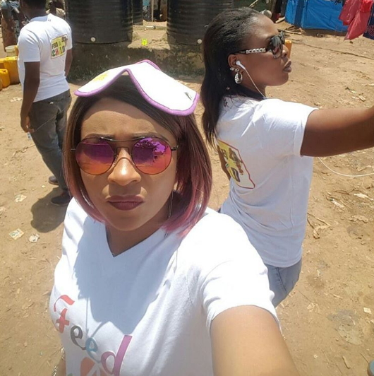 doris simeon feed the child crew idps camps abuja