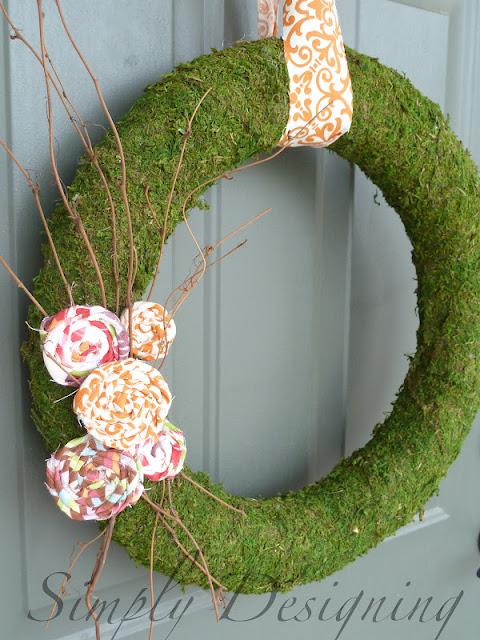 wreath+01 Spring Moss Wreath 21