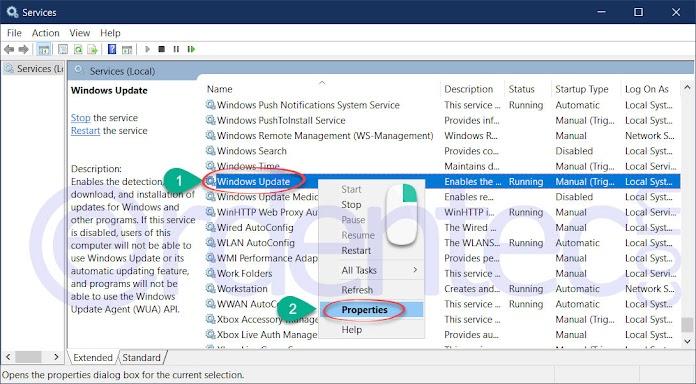 Fix Windows 10 Update 0x80070422 Error Code