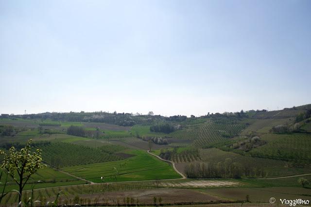Le splendide colline attorno a Govone