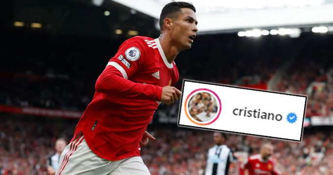 Ronaldo thank Man United fans for the reception they gave him at Old Trafford