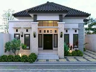 gambar rumah 2 teras
