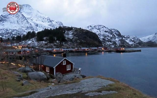 Nusfjord, Islas Lofoten, Noruega