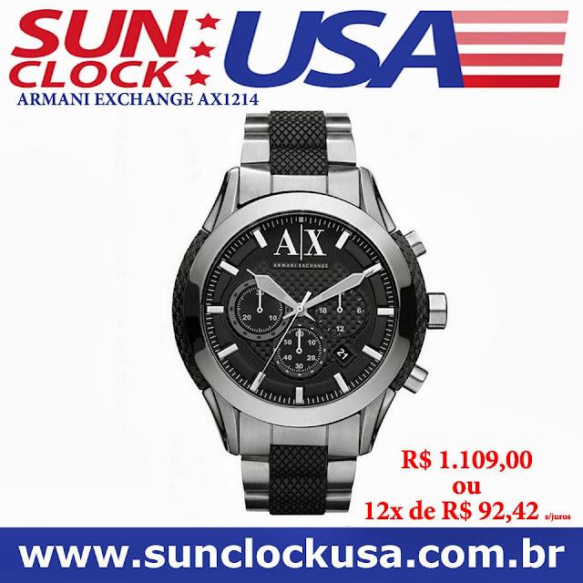 Relógios Importados  Relógio Armani Exchange AX1214 c324d7d4bc0