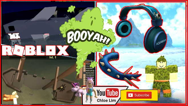 Roblox Booga Booga Gameplay Getting The Aquaman Event Items Water
