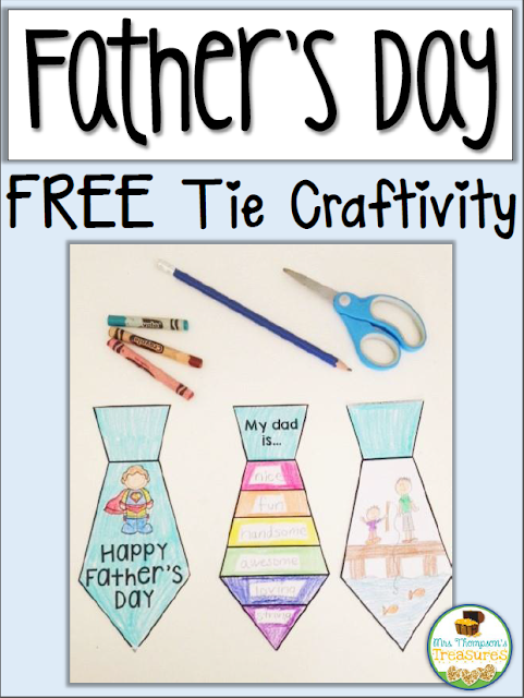 Father's Day Free Tie Activity