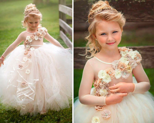 O encanto das daminhas no casamento - The charm of the bridesmaids at the wedding