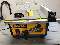 The new table saw
