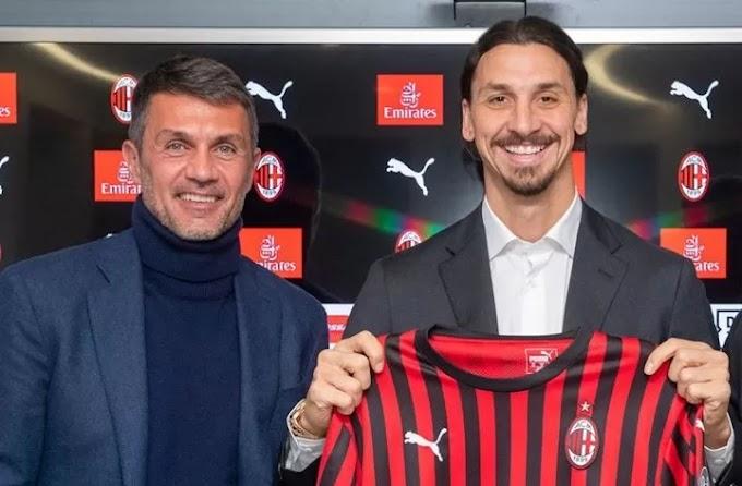 Ibrahimovic has more chance of staying at Milan than Maldini