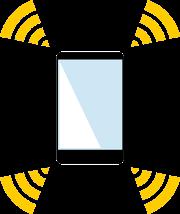 日本通信SIMでiPhoneのテザリング(インターネット共有)ができないときは