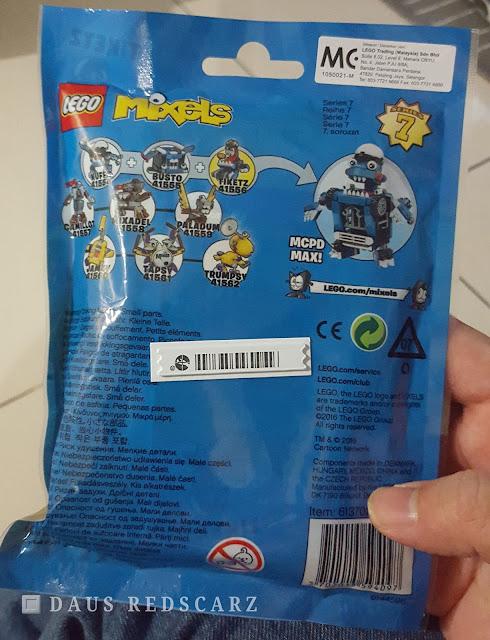 Lego Mixels TIKETZ Series 7