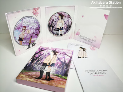 Anime: Review de la edición Blu-Ray Colleccionista de Quiero comerme tu Páncreas - Selecta Visión