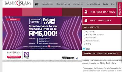 Cara Daftar Bank Islam 2020 Online (Login)