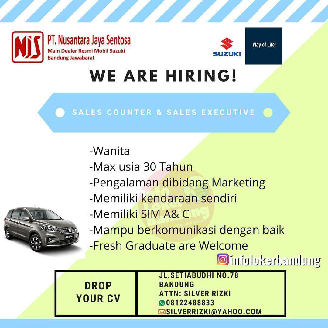 Lowongan Kerja PT. Nusantara Jaya Sentosa ( Suzuki Mobile ) Setiabudi Bandung Desember 2019
