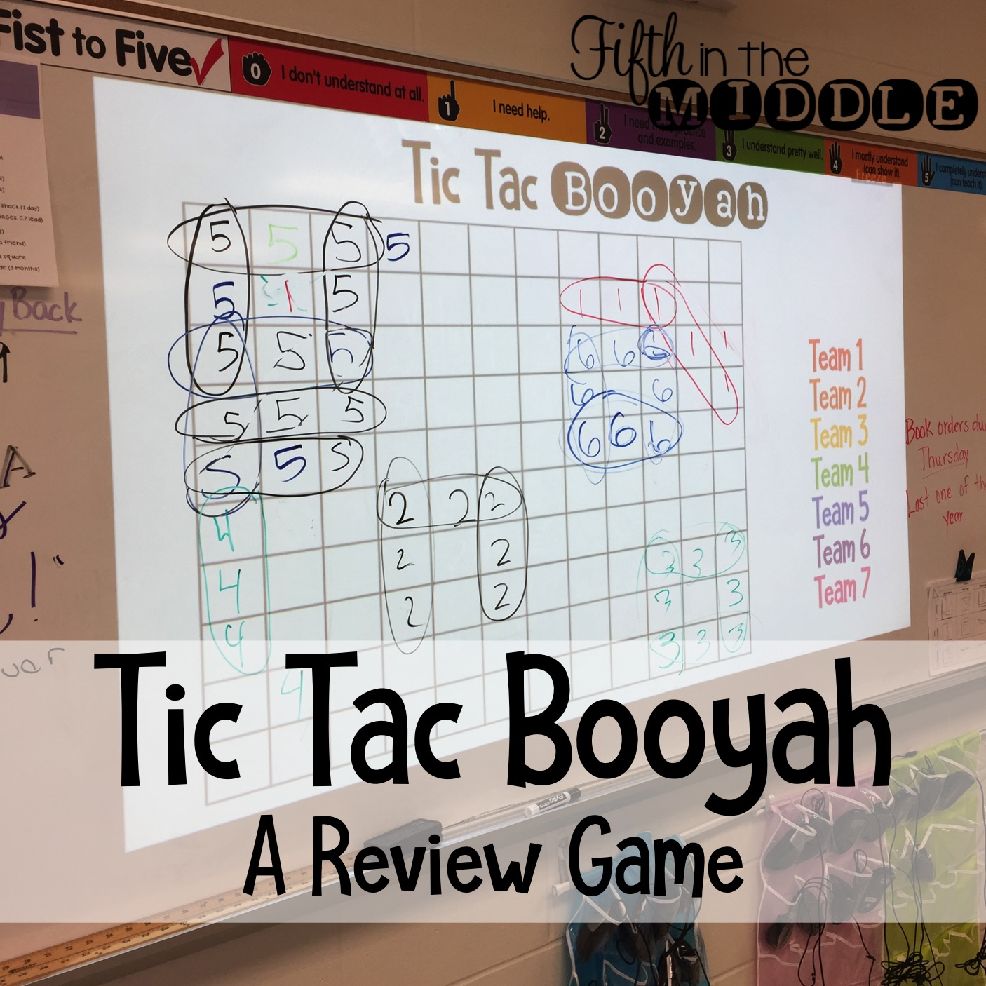 Tic Tac Booyah - Fifth in the Middle