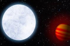 Molekulių irimas garuojančioje planetoje