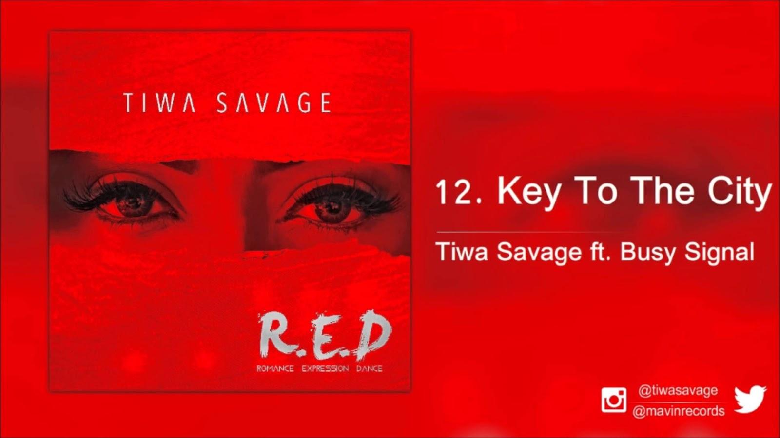 TIWA SAVAGE ft  BUSY SIGNAL - Keys To The City Remix lyrics