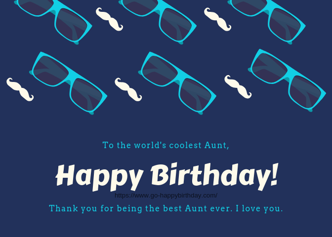 Happy Birthday Aunt Funny
