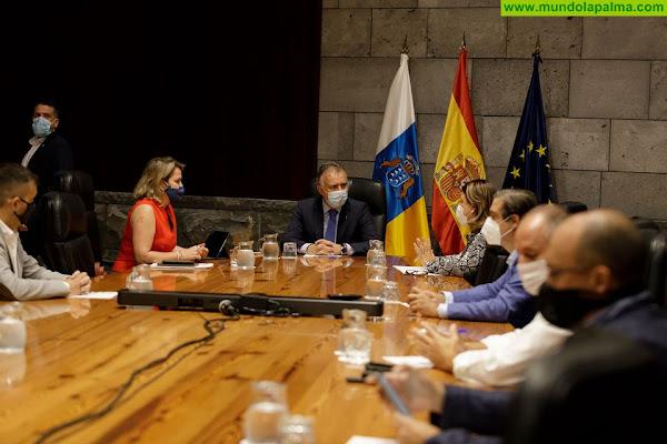 El Ejecutivo autonómico intensifica las gestiones con el Gobierno de España para defender ante la UE el mantenimiento del presupuesto del Posei