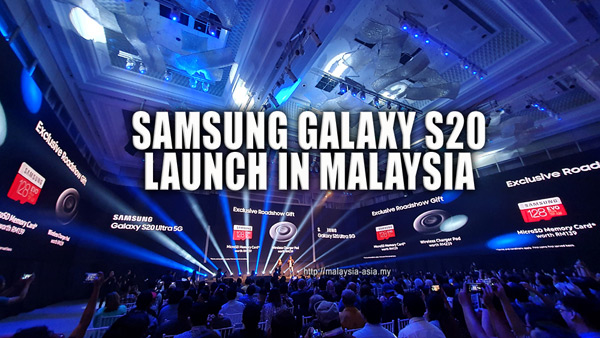 Malaysia Galaxy S20 Ultra 5G Launch