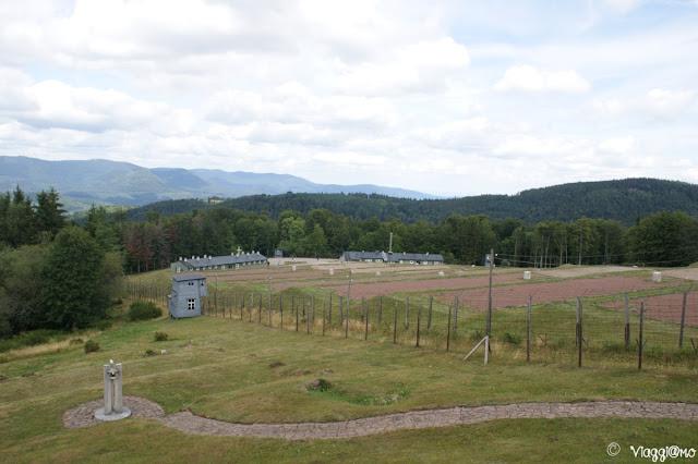 Vista Panoramica sul Campo di Concentramento di Natzweiler-Struthof
