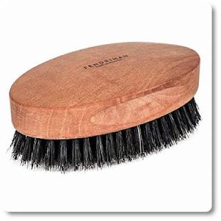 6 Fendrihan Genuine Boar Bristle and Pear Wood Military Hair Brush