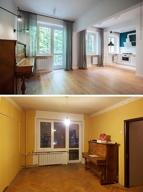 Инвестиционный ремонт старой квартиры   Блог Invest-designer