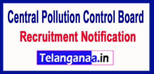 Central Pollution Control Board CPCB Recruitment Notification 2017
