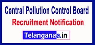 Central Pollution Control Board CPCB Recruitment Notification 2017 Last Date 21-06-2017