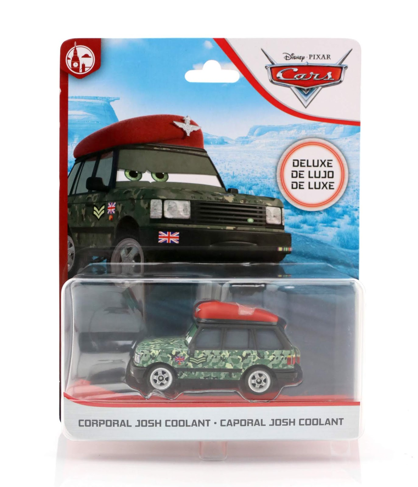 Cars 2 Corporal Josh Coolant mattel diecast review