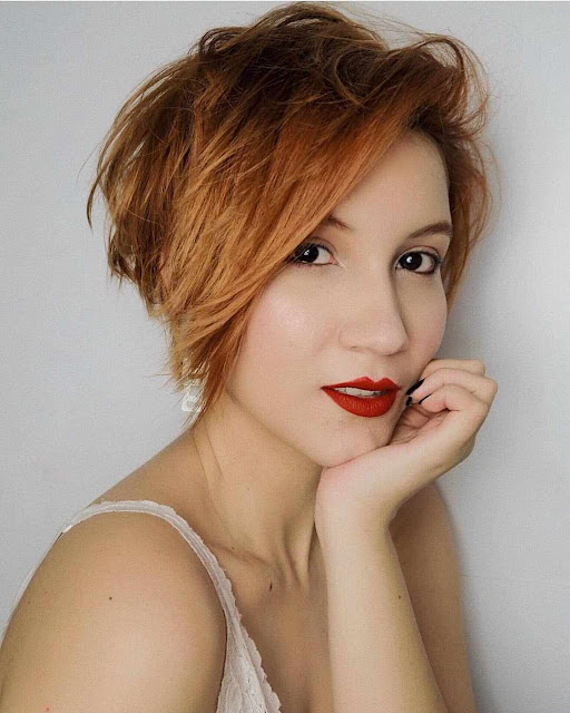 trendy short hairstyles for women 2019