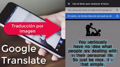 traducciones de textos en las fotos