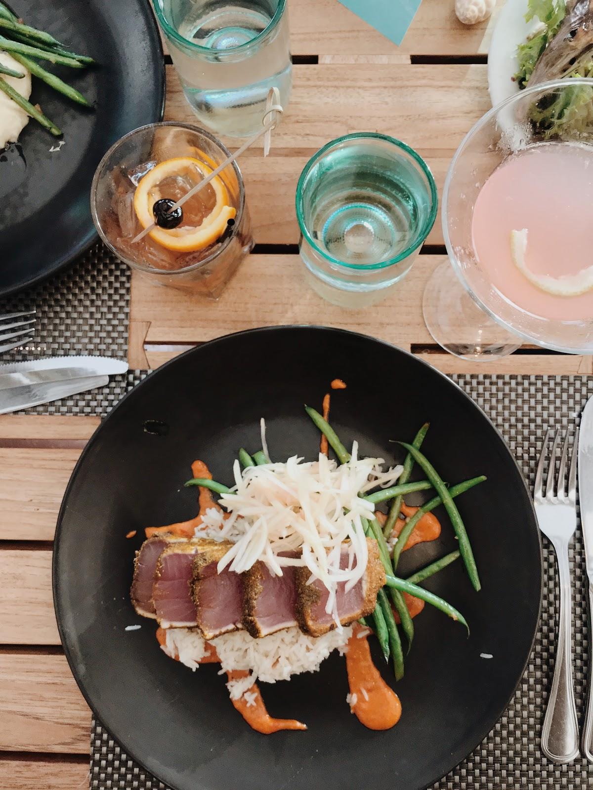 fresh tuna at Jake's Del Mar | Love, Lenore