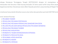 Jawatan Kosong di Lembaga Kemajuan Terengganu Tengah (KETENGAH)