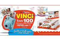 """Concorso Kinder """"Scatta e rendi unici i tuoi istanti"""" : vinci 100 fotocamere Instax Mini11"""