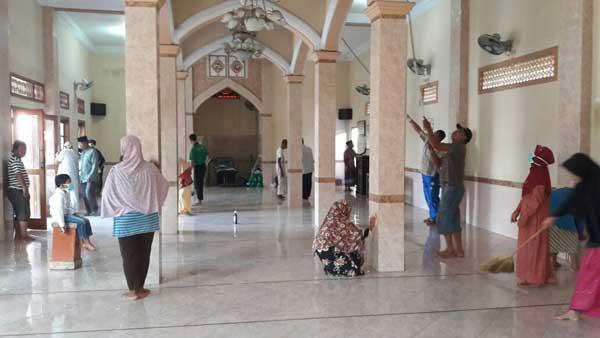 program bersihkan masjid sebelum ramadan
