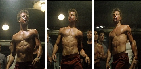 STRENGTH FIGHTER™: Brad Pitt in Fight Club