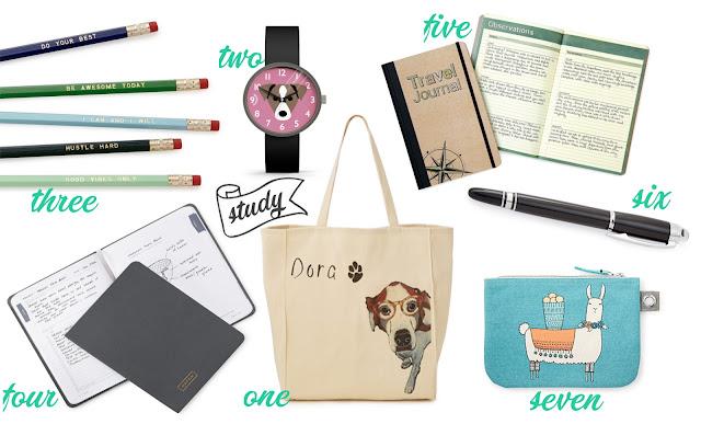 back to uni back to school gifts supplies ideas must have wishlist blogger liz breygel