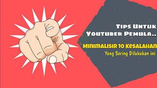 10 kesalahan youtuber
