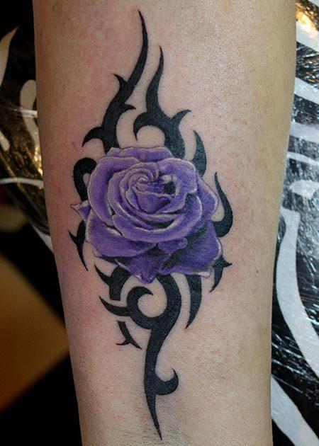 tatuajes tribales con rosas