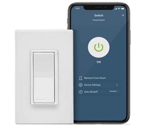 Leviton D215S-2RW Decora Smart Wi-Fi Switch