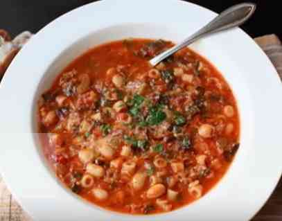 How to cook Pot Minestrone Soup
