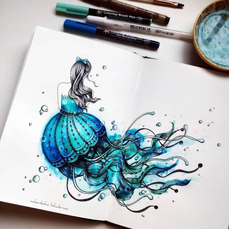 03-Jelly-Mermaid-Aakanksha-Bhalerao-www-designstack-co