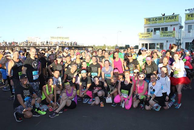 Rock'n'Roll Las Vegas Half Marathon werunsocial meetup pic