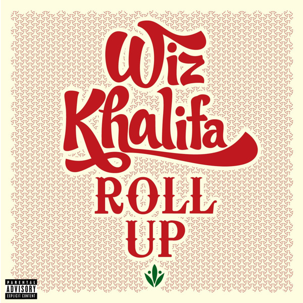 Wiz Khalifa - Roll Up - Single Cover