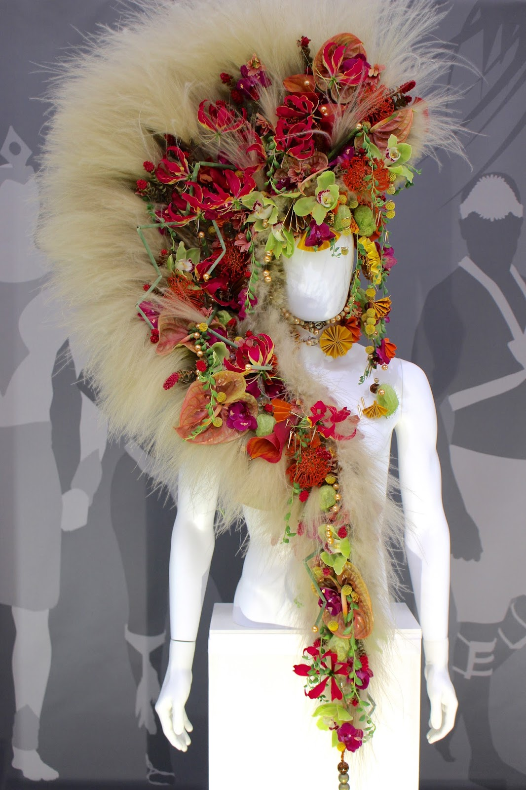 Chelsea Flower Show April Bennett Headdress